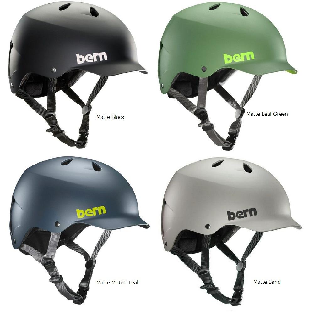 【送料無料】【Bern】 バーン(日本向けモデル) WATTS(ワッツ) 全8色 大人用ヘルメット(S-XXXL) WATTS【国内正規品】