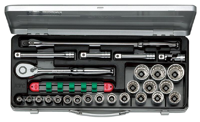 KTC 4989433138374 TB420X ミリ ソケットレンチセット 新作多数 安い 12.7SQ
