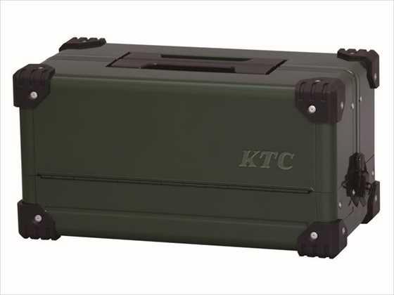 【KTC】 【4989433850061】EK-10ADGR [両開きメタルケース(テ゛ィーフ゜ク゛リーン)] EK-10ADGR