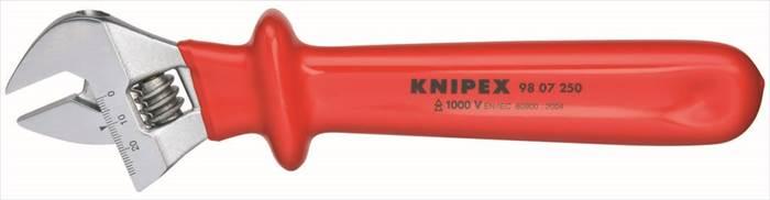 【KNIPEX(クニヘ゜ックス)】 【4003773071518】9807-250 絶縁モンキーレンチ 250MM 9807-250