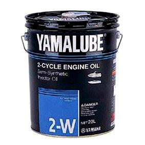 【4521407500031】【ヤマハ純正】 YAMALUBE(ヤマルーブ)マリンエンジンオイル マリンジェット、ジェットボート専用 2W(分離・混合用) 2ストローク 20リットル 【9079070421】【YAMAHA】