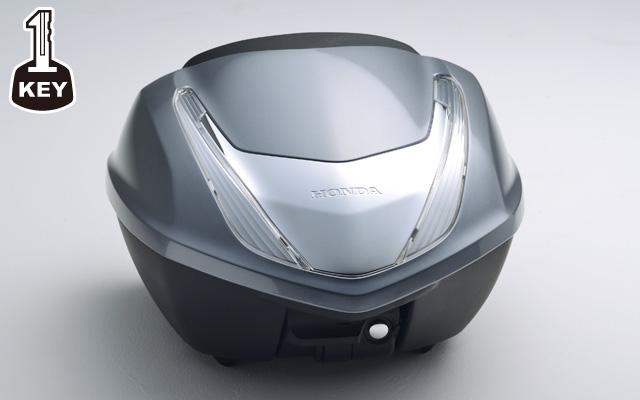 【ホンダ純正品】CB1300 SUPER FOUR トップボックス 35L 塗装タイプ:ワン・キー・システムタイプ【08L72-MGC-N40ZC (シルバーメタリック)Honda】