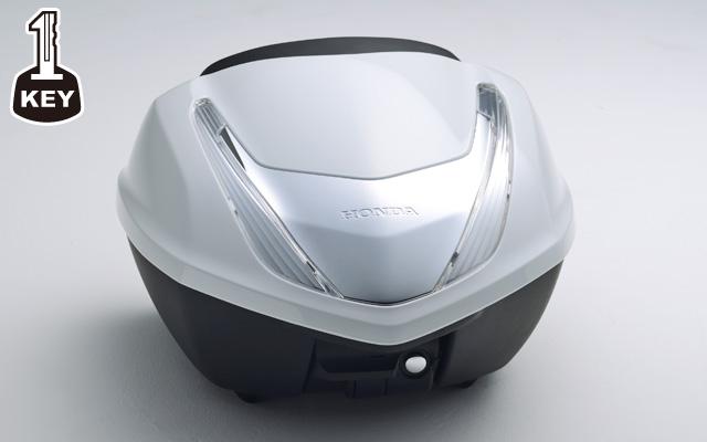 【ホンダ純正品】CB1300 SUPER FOUR トップボックス 35L 塗装タイプ:ワン・キー・システムタイプ【08L72-MGC-N40ZE (パールホワイト)【Honda】