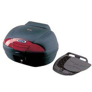 【送料無料】【ヤマハ純正】 リアボックス E45 ブラック 45L バックレストソフトパッド付き ワンタッチステープレート付 【Q5KYSK001P27】【YAMAHA】