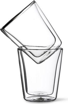 BODUM ダブルウォール 2個セット 25%OFF 40%OFFの激安セール グラスマグ Double wall two glass mugs of set
