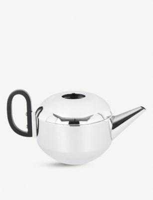 TOM DIXON フォーム ミラード ステンレススチール ティーポット Form stainless mirrored 超歓迎された 13cm SEAL限定商品 steel teapot