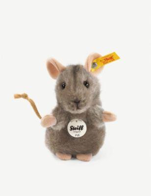 STEIFF ピフ 再入荷/予約販売! マウス ソフトトイ 10cm Mouse Piff soft toy 返品送料無料
