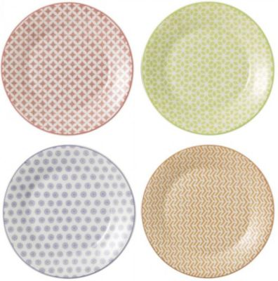 ROYAL DOULTON パステル アクセント 4枚セット プレート 16cm Pastels Accent set of four plates 16cm