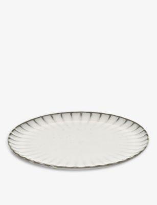 SERAX インク ストーンウェア 贈呈 ※アウトレット品 プレート stoneware plate Inku 21cm