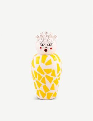 SELETTI レ キャノピー ロジオ ポーセレイン モデル着用 注目アイテム アンド ドロマイト ベース dolomite Le and Rosio porcelain Canopie 評判 vase