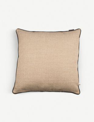 POLS POTTEN スムース ボーダー ウォーブン クッション 50cm x Smooth cushion woven bordered 海外並行輸入正規品 格安激安