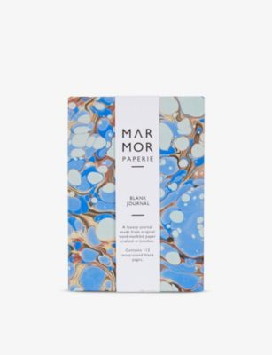 MARMOR 美品 PAPERIE ストーンマーブル ポケット ジャーナル Stone-marbled journal pocket 14cm 店内全品対象