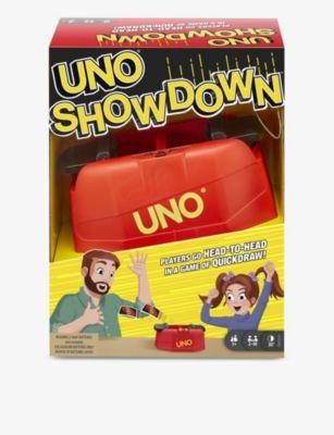 BOARD GAMES ウノ ショウダウン カード ゲーム Uno マーケット Showdown ついに入荷 game card