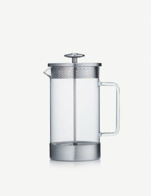 BARISTA CO 8カップ ボロシリケイト グラス アンド ステンレススチール コーヒープレス 1L 永遠の定番モデル coffee 情熱セール cup glass borosilicate stainless-steel press Eight and