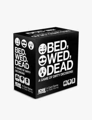BOARD GAMES ベッド ウェッド デッド カード card Dead ゲーム Bed 限定タイムセール game Wed 店