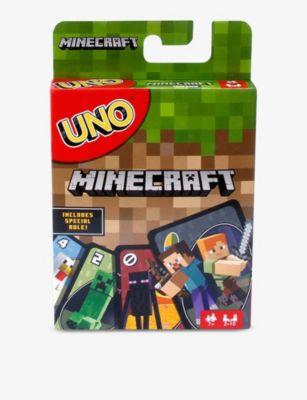 BOARD GAMES ウノ マインクラフト 定番キャンバス カード Minecraft card game Uno ブランド激安セール会場 ゲーム