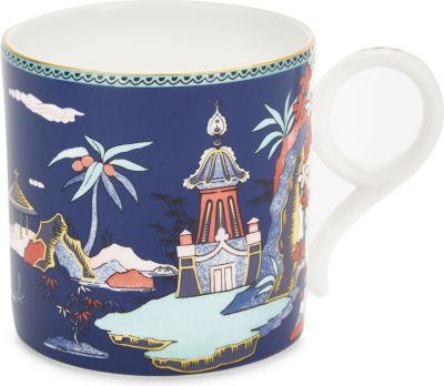 WEDGWOOD ワンダーラスト 新入荷 流行 ブルー パゴダ チャイナ マグ Pagoda China mug 驚きの値段 Wonderlust Blue
