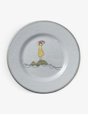 WEDGWOOD 男女兼用 セイラーズ ◆セール特価品◆ フェアウェル スモール チャイナ プレート 17cm Sailor's Farewell small plate china