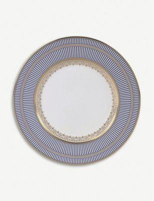 <title>WEDGWOOD アンセミオン ブルー ボーンチャイナ プレート 27cm Anthemion Blue 5%OFF bone-china plate</title>