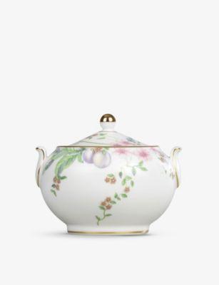 WEDGWOOD スイート プラム ボーンチャイナ 本日限定 シュガー ボウル bone-china sugar Sweet 7cm bowl 有名な Plum