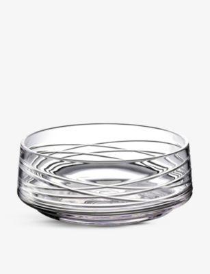 WATERFORD アラン クリスタルグラス ボウル33cm bowl 33cm 保証 アウトレットセール 特集 Aran crystal-glass