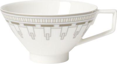 VILLEROY BOCH ラ クラシカ 卓越 コンチュラ ポーセレイン ティー カップ La #WHITE Contura tea cup 春の新作続々 porcelain Classica