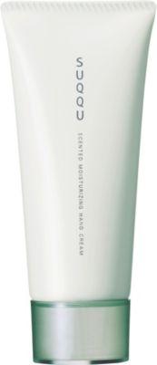 SUQQU センティッド 新品 送料無料 モイスチャライジング ハンドクリーム WT 流行のアイテム ホワイトティーの香り 90g Cream Hand Scented Moisturising