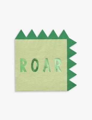 GINGER RAY ローサム 驚きの価格が実現 ペーパー ナプキン 16枚パック of Roarsome napkins paper pack 16 おすすめ特集
