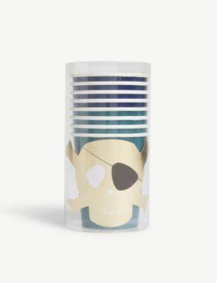 MERI パイレーツ パーティ 日本製 カップ 8個セット Pirates 8 of set cups 日本メーカー新品 party