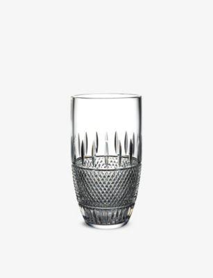 WATERFORD マスタークラフト アイリッシュ レース クリスタル ベース 25cm 5%OFF Mastercraft Irish Lace 値下げ vase crystal