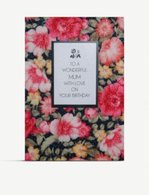 COUNTING STARS トゥア ワンダフルマム ウィズラブ グリーティングカード 春の新作 16cm x 11cm mum To wonderful 全国どこでも送料無料 with greetings love a card