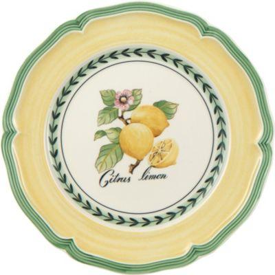 VILLEROY BOCH フレンチ ガーデン ヴァレンス サラダ プレート Garden Valence SALE開催中 品質検査済 21cm salad French plate