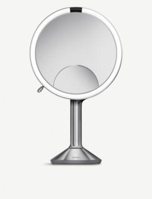 SIMPLE HUMAN トリオ センサー ミラー 20cm ☆新作入荷☆新品 お歳暮 Trio mirror Sensor