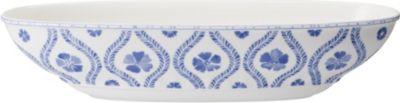 VILLEROY BOCH ファームハウス タッチ ブルーフラワー オーバル サービング ボウル Blueflowers 44cm Touch serving bowl デポー oval ハイクオリティ Farmhouse