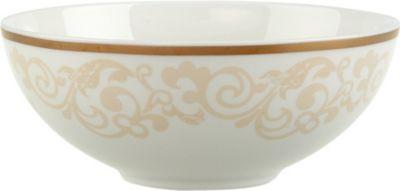 VILLEROY BOCH イボワール ポーセレイン インディビジュアル ボウル bowl 超激安特価 中古 individual Ivoire porcelain 13cm