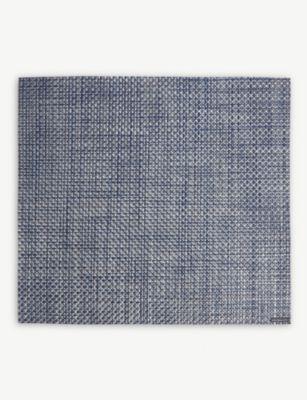新着 CHILEWICH バスケットウィーブ レクタンギュラー プレイスマット Basketweave placemat rectangular 新作 大人気 33x35cm