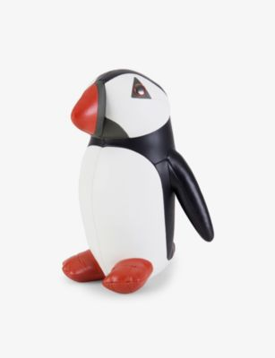 ZUNY パフィン フォックスレザー 全品送料無料 ブックエンド 1 1kg bookend 送料無料カード決済可能 faux-leather Puffin