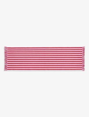 HAY ストライプ アンド フリンジ コットン 送料無料 激安 お買い得 キ゛フト ラグ 60cm 200cm and x cotton 国内在庫 rug Stripes fringed