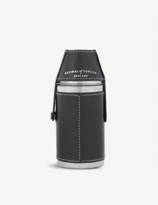 ASPINAL OF LONDON ハンター ファクトリーアウトレット フラスコ #BLACK セット set flask Hunter 大決算セール