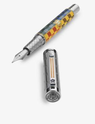 MONTEGRAPPA ハリーポッター ホグワーツ ステンレススチール ファウンテンペン Harry Potter fountain stainless-steel pen Hogwarts 激安 激安特価 送料無料 お歳暮