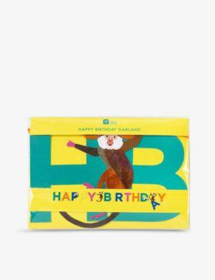 TALKING TABLES ハッピーバースデー ペーパー ガーランド garland Happy paper Birthday 3.5m 好評 開店祝い