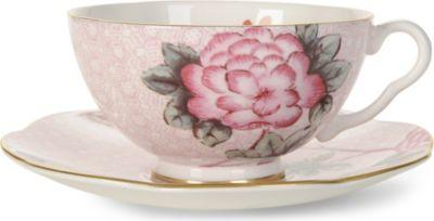 WEDGWOOD クックー ティーカップ アンド ソーサー ピンク ショッピング 安売り saucer and Cuckoo pink teacup