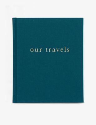 激安格安割引情報満載 WRITE TO ME アワトラベル リネン ジャーナル 23cm Our linen x 店 Travels 19cm journal