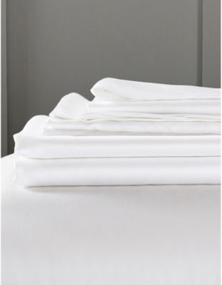 THE WHITE COMPANY キャンボーン コットン スーパーキング フィットシート 305cm cotton super-king sheet x #WHITE fitted 275cm Camborne 5☆大好評 誕生日プレゼント