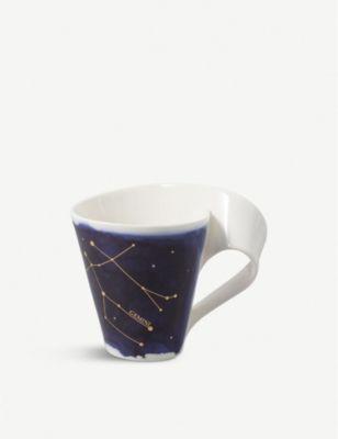 VILLEROY BOCH ニューウェーブ スター ジェミニ ポーセレイン マグ 300ml 売買 訳あり品送料無料 New porcelain Wave mug Stars Gemini