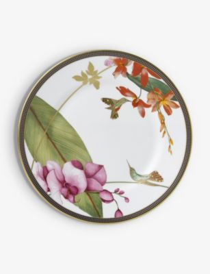 WEDGWOOD 購買 ハミングバード ファインボーンチャイナ プレート 20cm 早割クーポン plate china bone fine Hummingbird