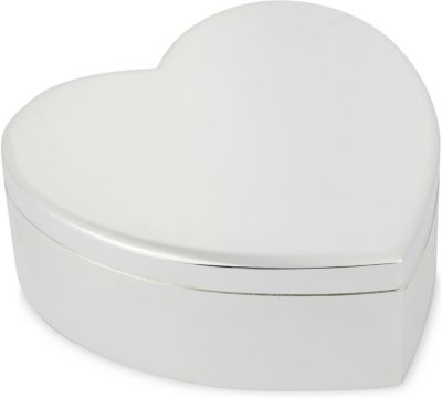THE WHITE COMPANY シルバープレーテッド ハート ボックス box plated 予約販売 チープ Silver #SILVER heart