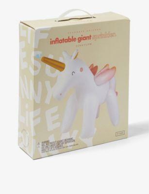 SUNNYLIFE シーホース ユニコーン インフラタブル スプリンクラー Unicorn Seahorse inflatable 超特価 sprinkler 35%OFF 1.6m
