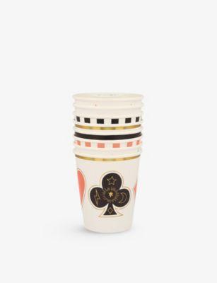MERI マジック グラフィックプリント ペーパー カップ 8枚パック Magic デポー pack cups 8 並行輸入品 of paper graphic-print
