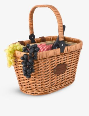 LES JARDINS DE LA 完全送料無料 大決算セール COMTESSE チャンティリー ウィッカー wicker バイク Chantilly bike basket バスケット 37cm